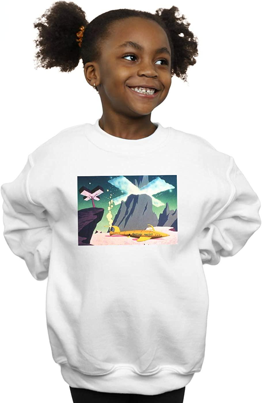 Absolute Cult Looney Tunes Girls Martian Maggot Sweatshirt