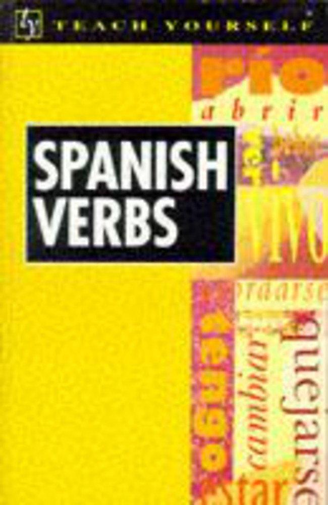 Teach Yourself Spanish Verbs New Edition (TYL): Amazon co uk: Maria