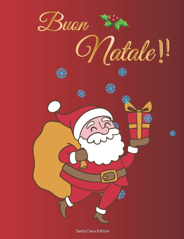 Adesivi Buon Natale.Buon Natale Santa Claus Edition Album Adesivi A4 Bianco 35 Pagine Senza Silicone Silicone Free Paper Idea Regalo Natale Italian Edition Natale Album Adesivi 9781695214347 Amazon Com Books