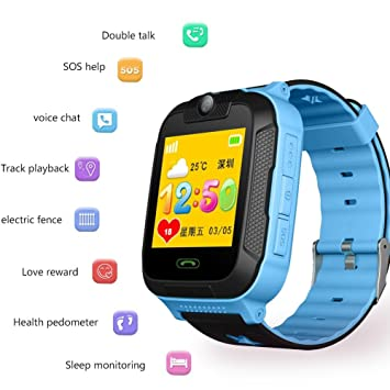 Kids Smartwatch Phone with GPS 3G Children's Smart Watch