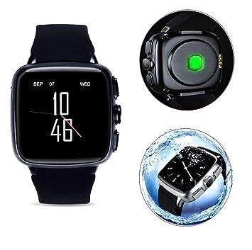 WLH Smartwatch,Willful Reloj Inteligente con Ranura para Tarjeta SIM, Pulsera Actividad Inteligente para Deporte, Reloj Iinteligente Hombre Mujer Niños ...