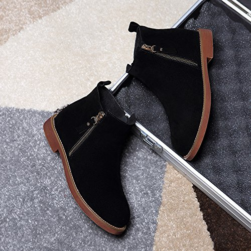 Stivali Chiatte Gli Le L'Autunno Cuoio black In L'Inverno Martin Scarpe KPHY E Inghilterra Le Stivali Di vUzqUY4