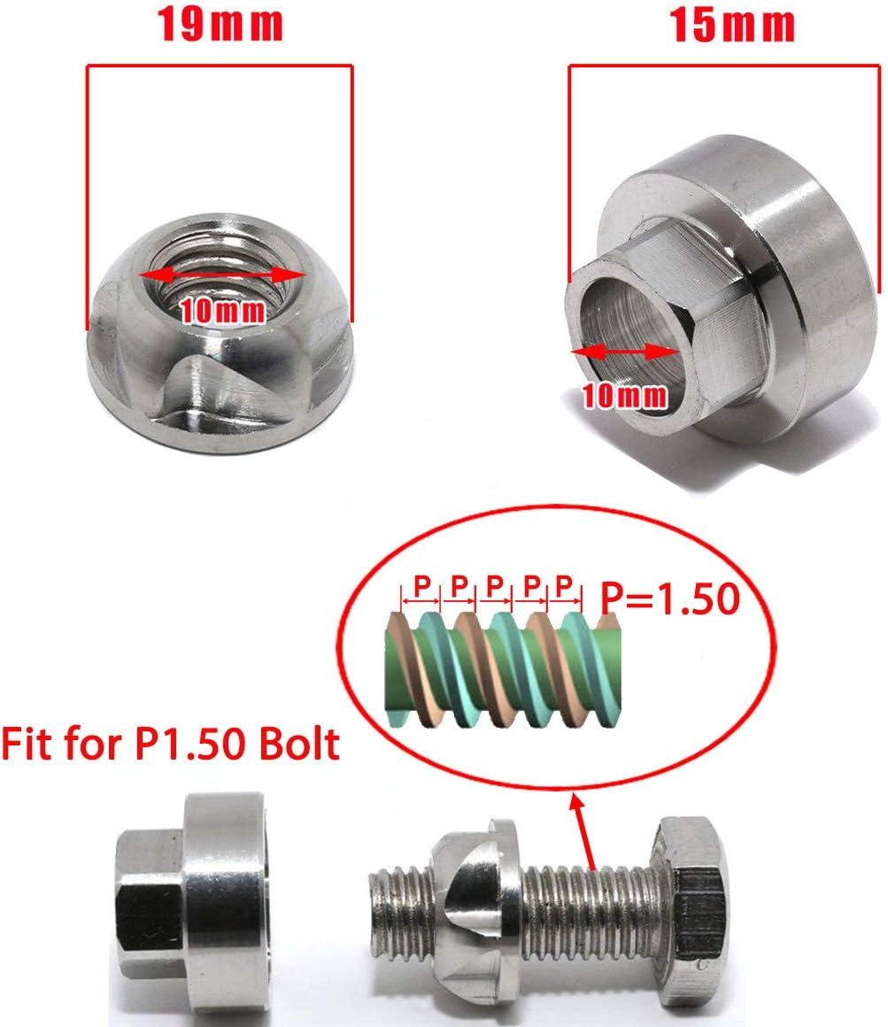 Lightronic Juego de herramientas de seguridad para tuercas de bloqueo antirrobo para luces de trabajo de barra de luz LED