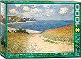 1000 piece puzzle monet - Eurographics Chemin dans les Bles by Claude Monet 1000-Piece Puzzle