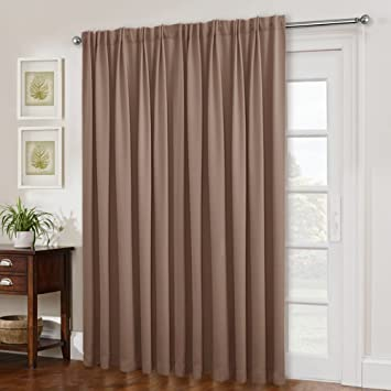 Amazoncom Nicetown Blackout Curtains For Sliding Glass Door