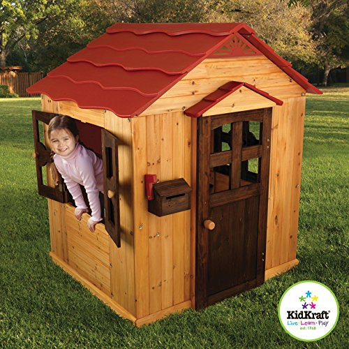 Outdoor Wood Playhouses (KidKraft Outdoor Playhouse)