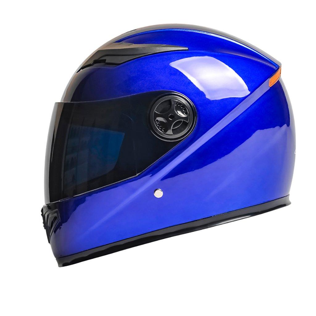 超大特価 ヘルメット ヘルメット 青 B07D4883FS/メンズMオートバイヘルメット夏日保護ヘルメットフォーシーズンユニバーサルマルチカラー軽量パーソナリティファッションヘルメット (色 : 青) B07D4883FS 青) 青, 【ストレピア】大人の時短コスメ:c24db8d7 --- a0267596.xsph.ru