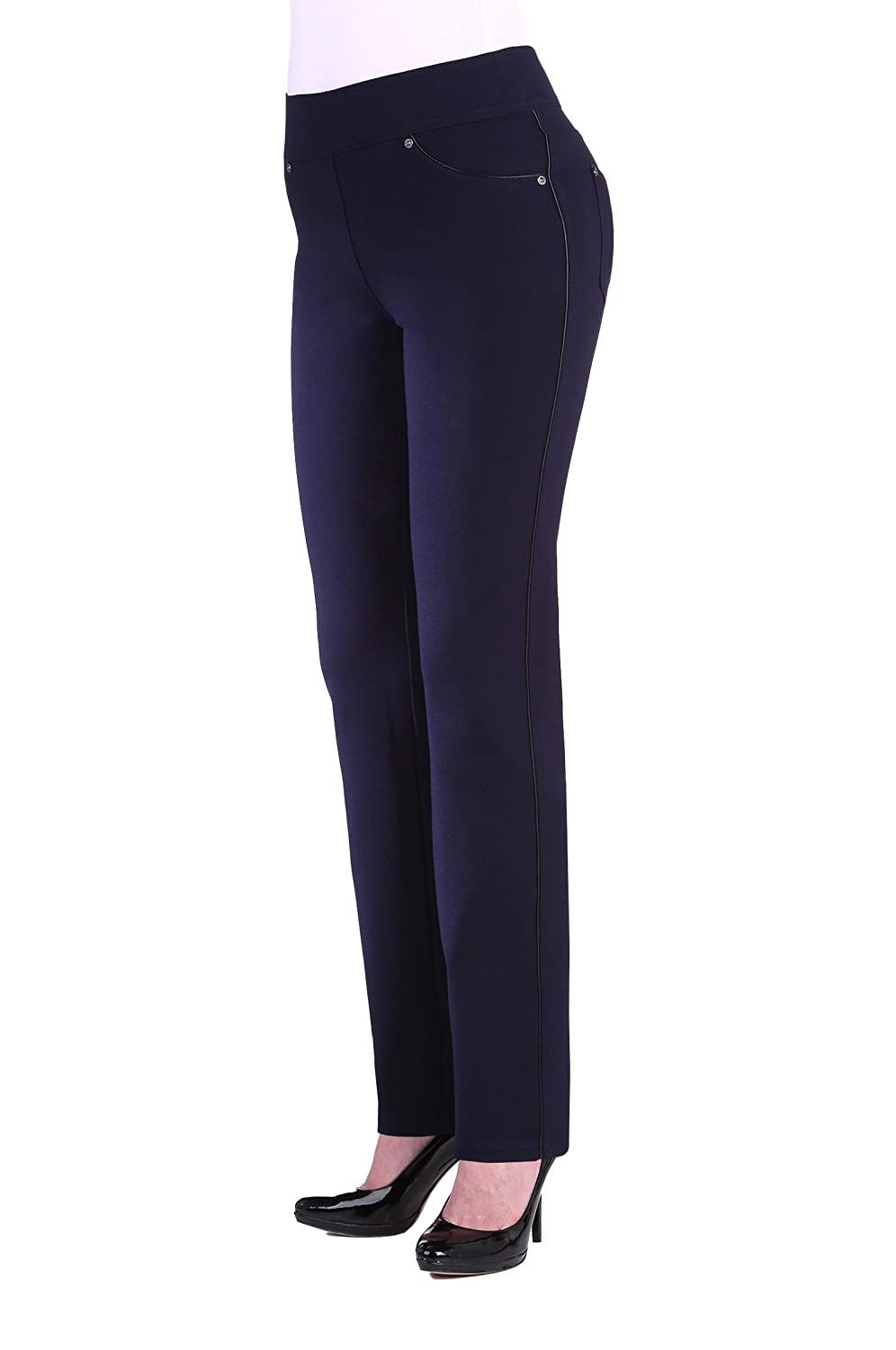 NYGÅRD SLIMS Nygard Women's Plus Size Slims Skinny With Piping 3E4Y7114