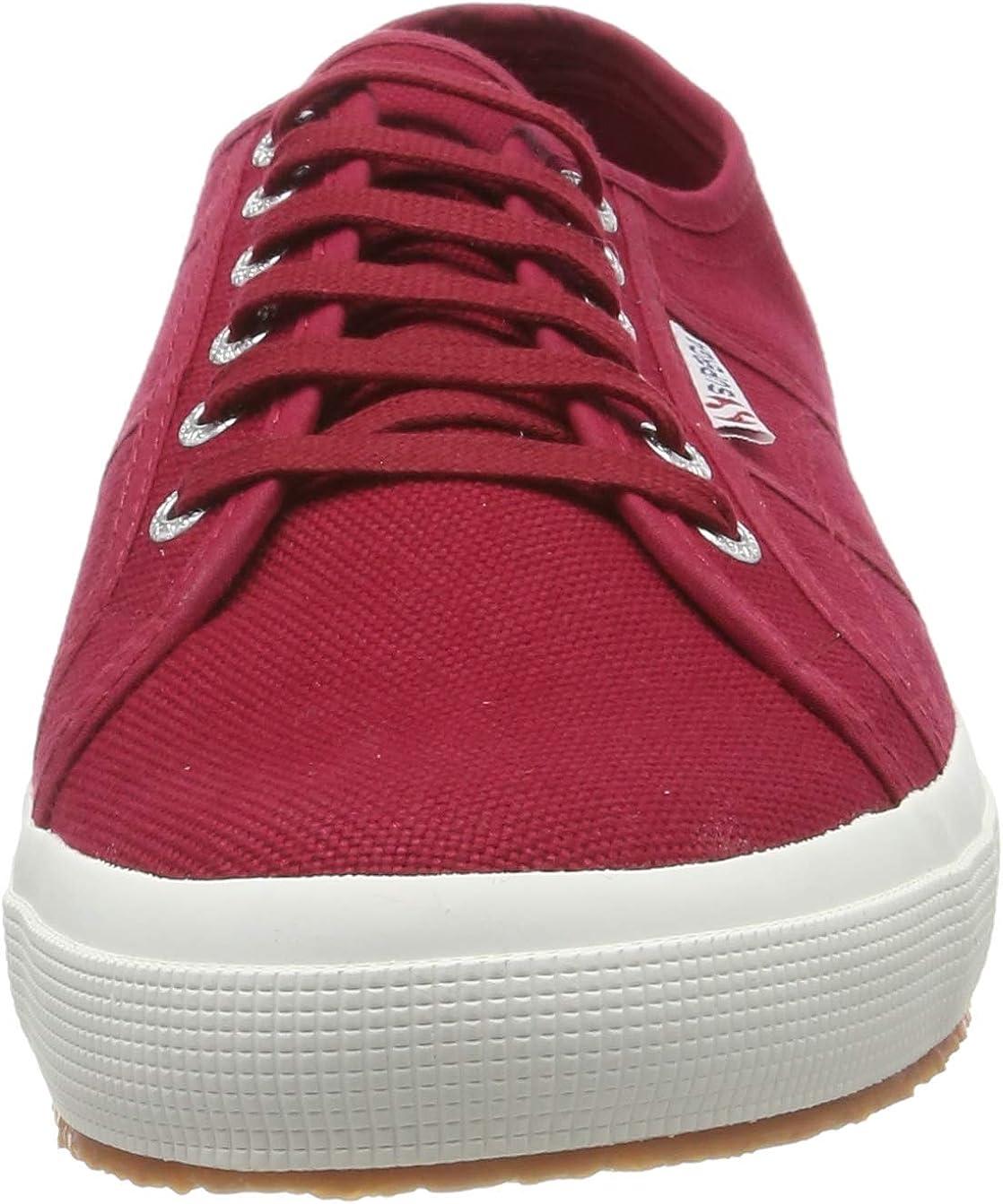Superga 2750-cotu Classic, Chaussures De Gymnastique Mixte Adulte Rouge Red Dk Scarlet 104