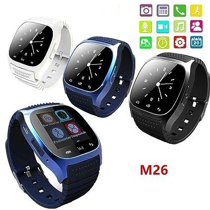 Amazon.com: FAIYIWO Real M26 Smart Watches Fashion Bluetooth ...
