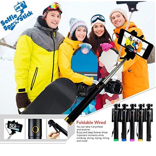 Sleep More Monopod Selfie Stick for Iexplore iPhone 5/6/6 Plus and Smartphones