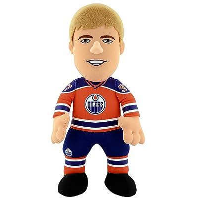 "Bleacher Creatures Edmonton Oilers Connor McDavid 10"" Plush Figure : Sports & Outdoors"