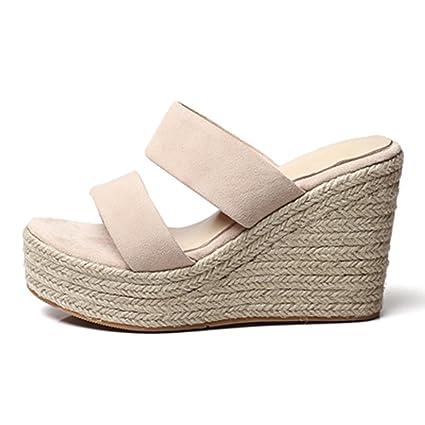 Sandalias Para Pies Señorascuñas Altas Qingtaoshop Zapatillas lTFJK1c