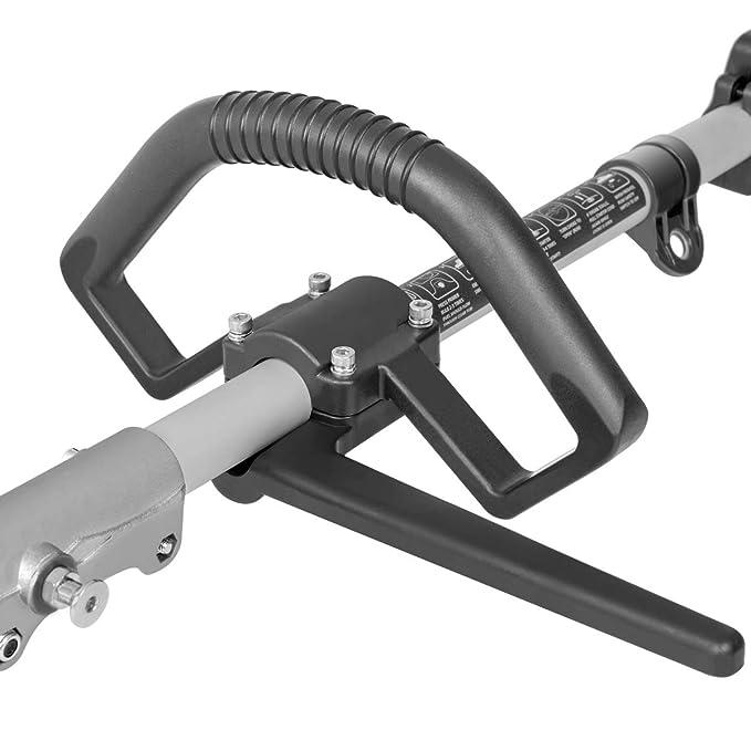 Greencut GM650X-5 - Herramienta multifunción desbrozadora, podadora y cortasetos, 5 en 1