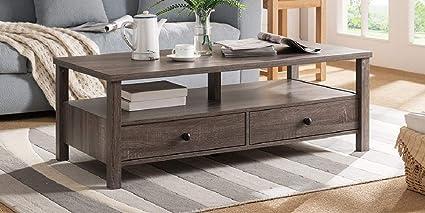 Amazon Com Major Q 17 H Modern Contemporary Design Coffee Table