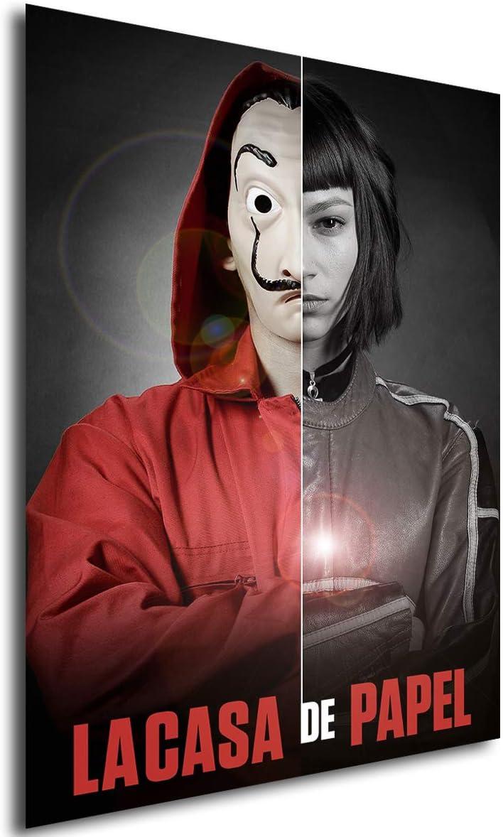 Instabuy Poster La casa de Papel - Mask Tokio - A3 (42x30 cm): Amazon.es: Juguetes y juegos