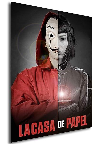 Instabuy Poster La casa de Papel - Mask Tokio - A3 (42x30 cm)