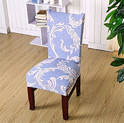 Super Fit Stretch Removable Washable Short Dining Chair Cover Protector Seat Slipcover for Hotel,Dining Room,Ceremony