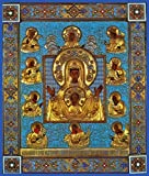Mother of God ''Kursk Root'' Russian Orthodox icon