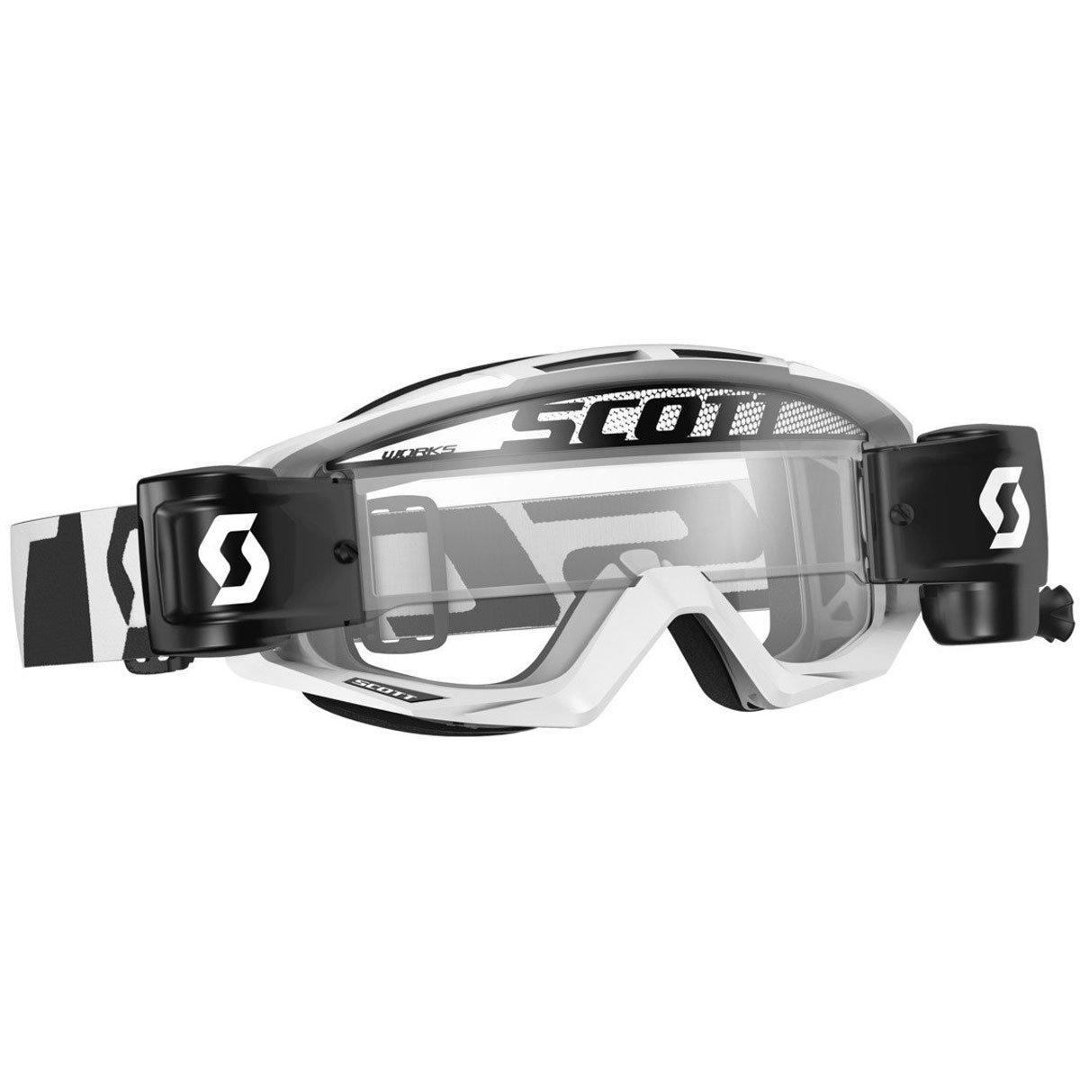 Scott Tyrant WFS Goggles - White/Clear - One Size