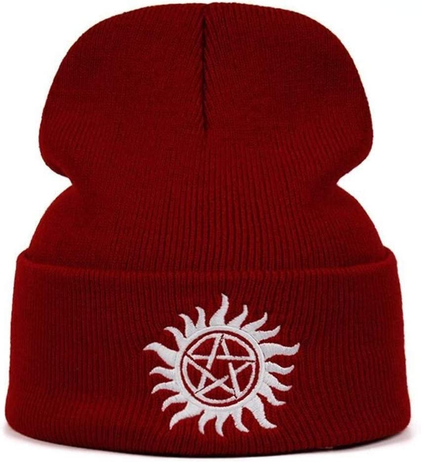 Supernatural Beanie Knitted Winter Hat Solid Hip-hop Knitted Hat Cap Costume Accessory Gifts Warm Winter
