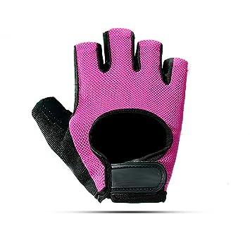 Ventilación Guantes deportivos, protección completa de la palma y agarre extra, guantes de remo