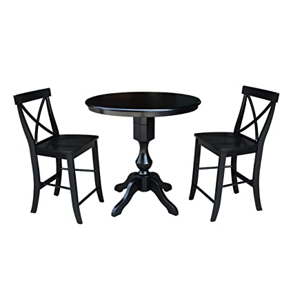 Admirable Amazon Com Overstock 36 Round Top Counter Height Table Dailytribune Chair Design For Home Dailytribuneorg