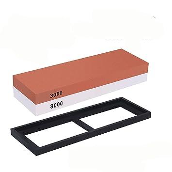 Mydio - Afilador de piedra afiladora de cuchillos (3000/8000 ...