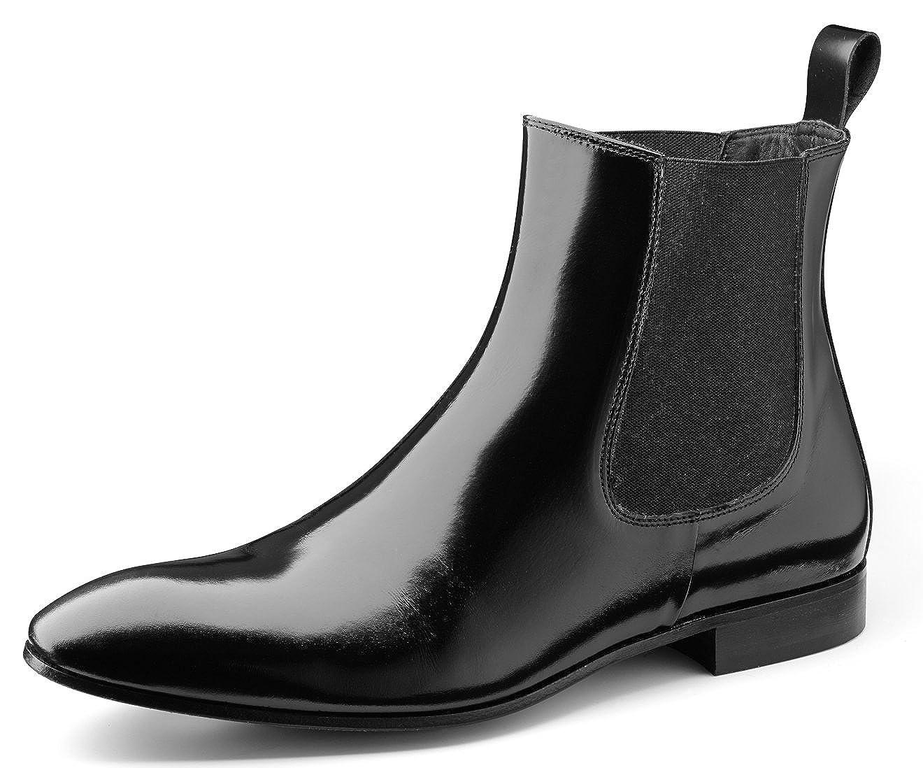 Wilvorst der Klassische LederStiefel der Wilvorst Marke Farbe Schwarz 8abde9