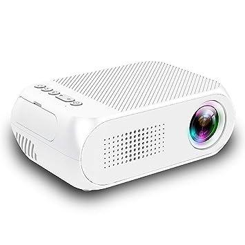 ASHATA Mini proyector LED Proyector de Video portátil HD ...