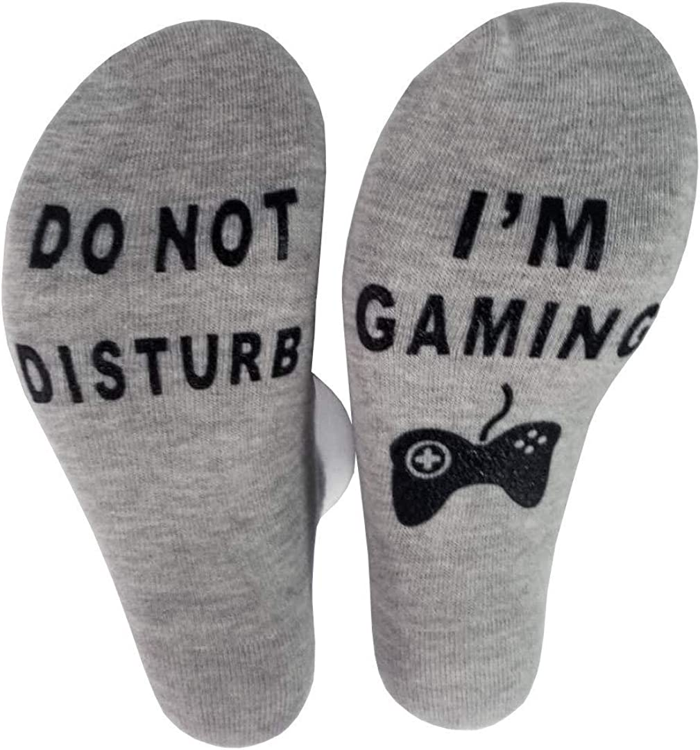 Prime Deals Day Deals 2020-Do Not Disturb Im Playing Gaming Funny Sock