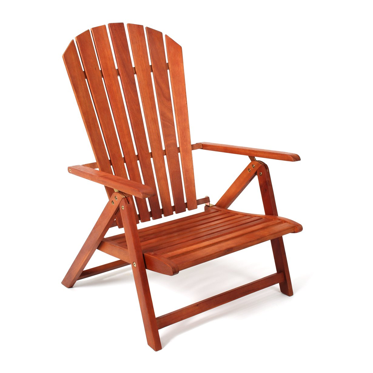 Adirondack Chair Sport Model by Sabbatical - Portable, Folding and Reclining Great for The Patio, Backyard, Beach, Camping and Outdoor Events by Sabbatical