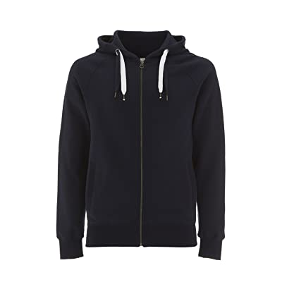 Underhood of London Zip Up Hoodie For Women - Fleece Jacket - Womens Zipper Cotton Hooded Sweatshirt