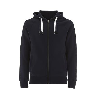 Underhood of London Zip Up Hoodie For Women - Fleece Jacket - Womens Zipper Cotton Hooded Sweatshirt