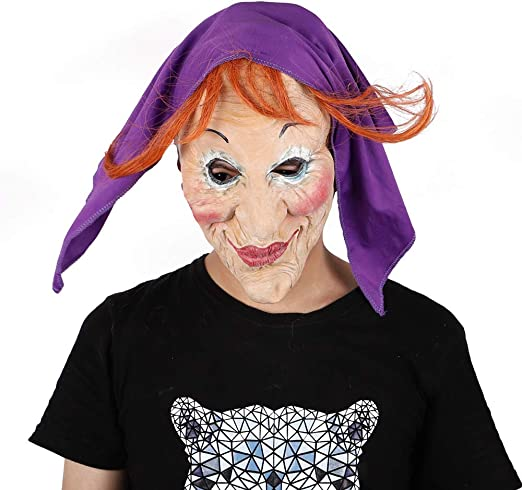 WDERYL Máscara de Halloween, máscara de Maquillaje Pesado de ...