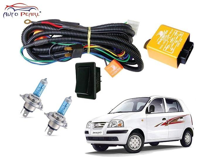 autopearl halogen headlamp wiring harness kit for hyundai hyundai accent fuse box car maintenance and repair tips how