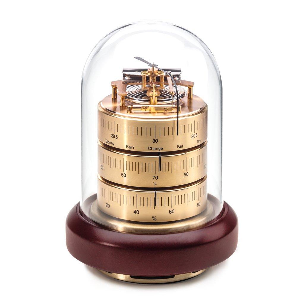 BARIGO 3026MA Barometer Thermometer Hygrometer W/Acrylic Top