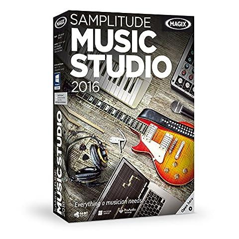 MAGIX Samplitude Music Studio 2016 (Magix Studio Software)