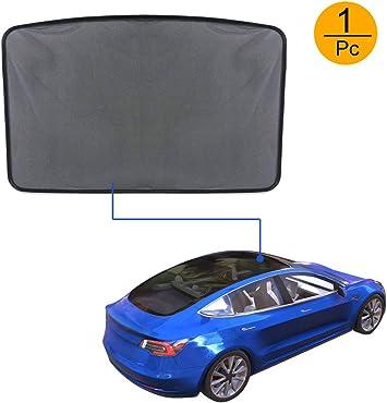 ROCCS Tesla Model S Rear Sunroof Sunshade Windshield Glass Roof Car Skylight Blind Shading Net for Model s 2012 2013 2014 2015