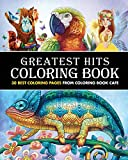 #10: Greatest Hits Coloring Book: 30 Best Coloring Pages from Coloring Book Cafe