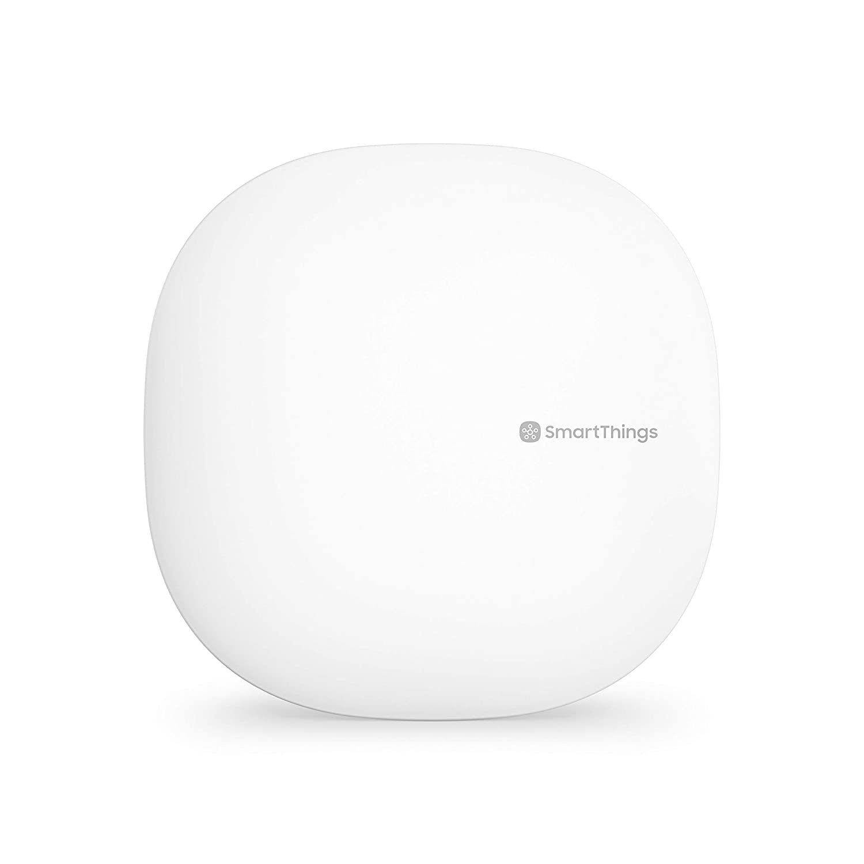Samsung SmartThings Hub 3rd Generation [GP-U999SJVLGDA] Smart Home Automation Hub Home Monitoring Smart Devices - Alexa Google Home Compatible - Zigbee, Z-Wave, Cloud to Cloud Protocols – White