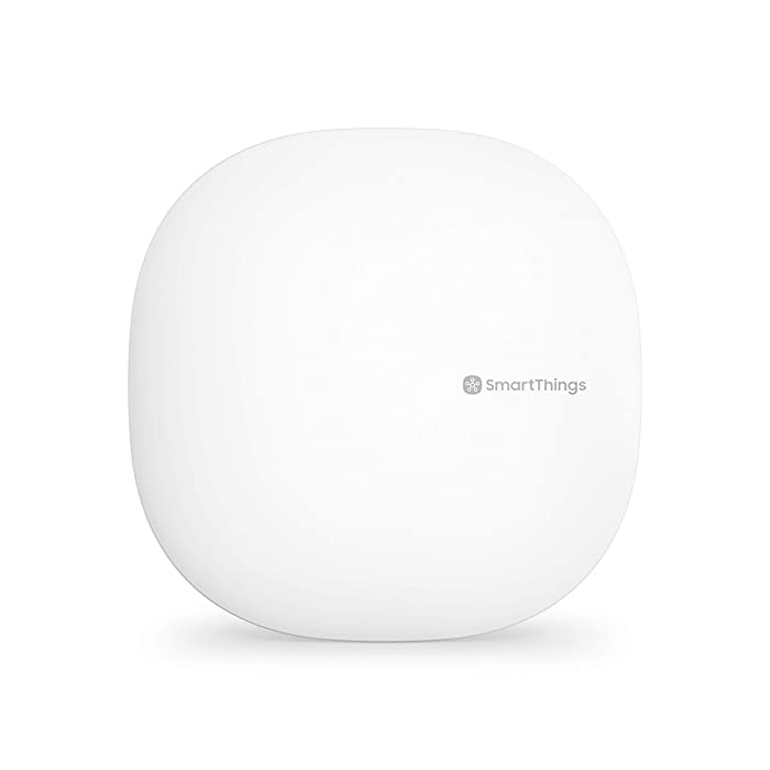 Samsung SmartThings Hub 3rd Generation [GP-U999SJVLGDA] Smart Home Automation Hub Home Monitoring Smart Devices - Alexa Google Home Compatible - Zigbee, Z-Wave, Cloud to Cloud Protocols – White