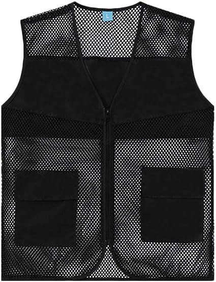 photography Men/'s multi-pocket thin vest Hunting volunteer vest fishing