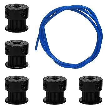 AFUNTA - Accesorios para impresora 3D, 5 piezas, polea de ...