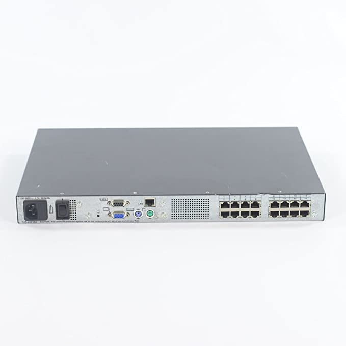 HP EO1010 SERIES 16 PORTS IP KVM SWITCH HP 286598-001