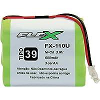 Bateria Para Telefone Sem Fio, Newex, 3.6V, 600 mAh, Plug Universal, Tipo 39