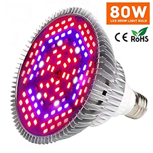 Yeuloum LED Grow Light Bulb