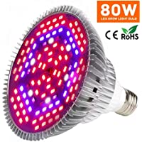 Yeuloum 80W Led Grow Light Bulb