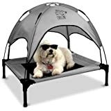 Floppy Dawg Just Chillin' Elevated Dog Bed. Medium and Large Size Dog Cots in a Variety of Colors. Removable Canopy. Used as
