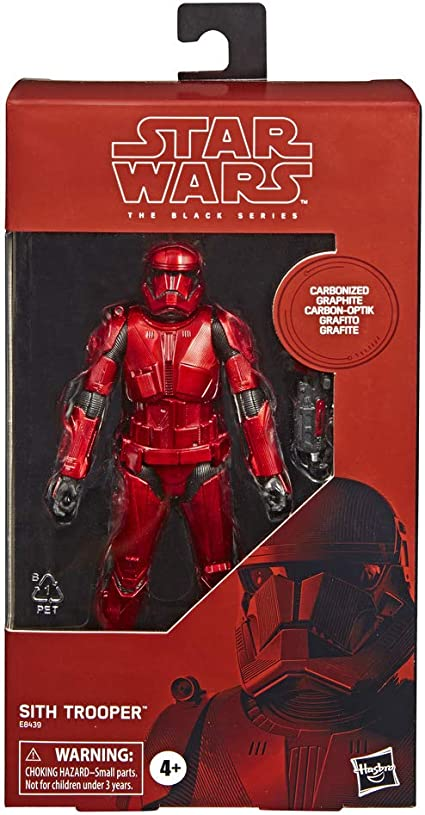 15 cm Star Wars Figurine Black Series Carbonized Sith Trooper Edition Collector